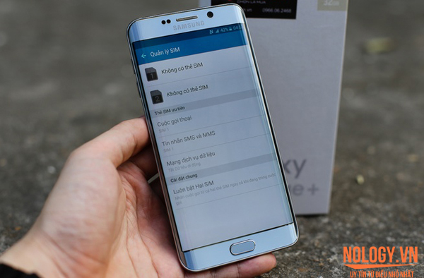 Samsung S6 Edge Plus 2 Sim