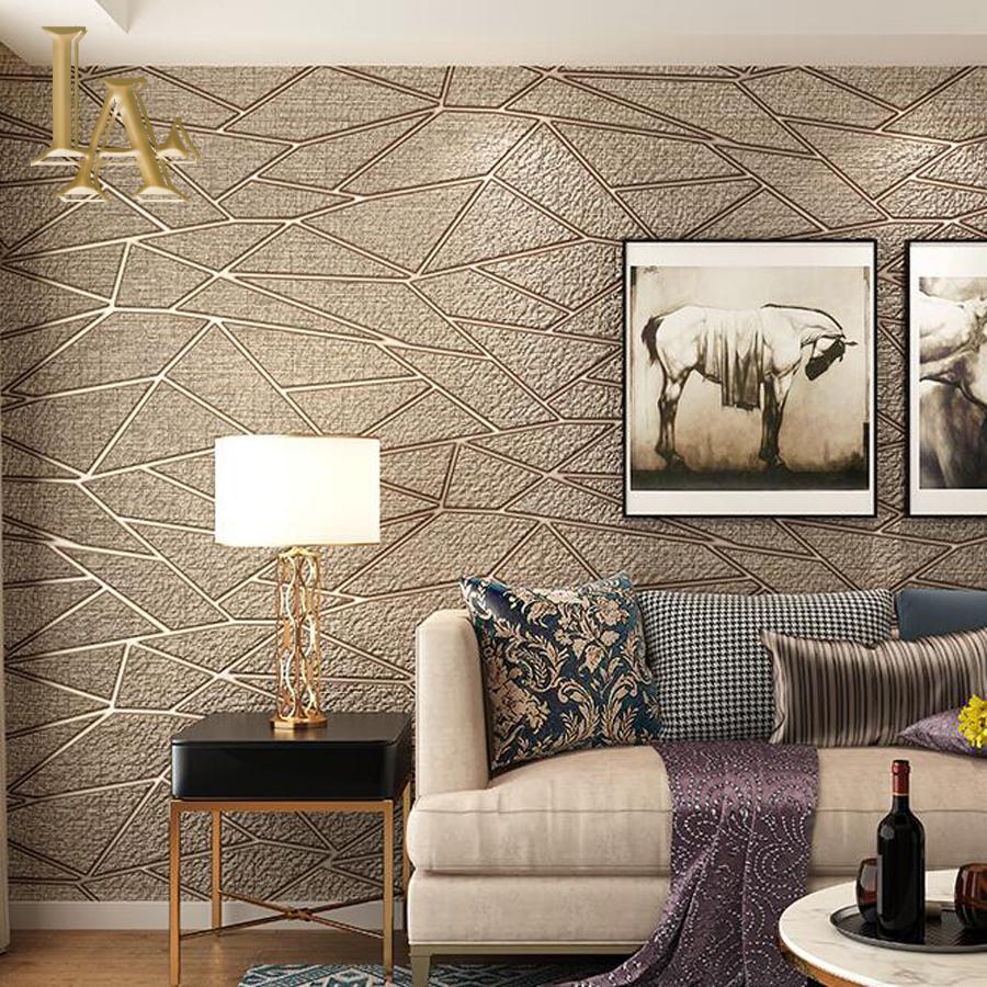 70 Contoh Motif Wallpaper Pilihan Untuk Ruang Tamu Rumahku