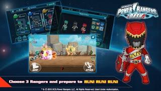 Power Rangers Dash Mod Apk