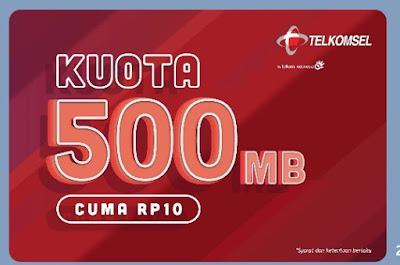Cara Mendapatkan 500 MB Telkomsel Cuma Rp.10 di Bulan Ramadhan