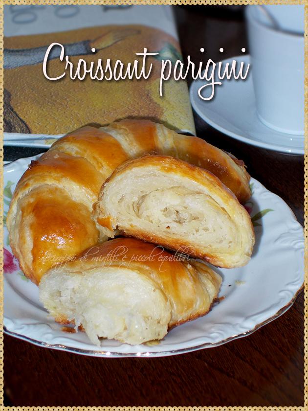 Croissant parigini, interno