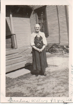 Climbing My Family Tree: My 2nd Great Grandmother: Mary Jane (Currier) Wilcox, age 92