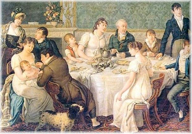 Image result for birthday celebration in austen times