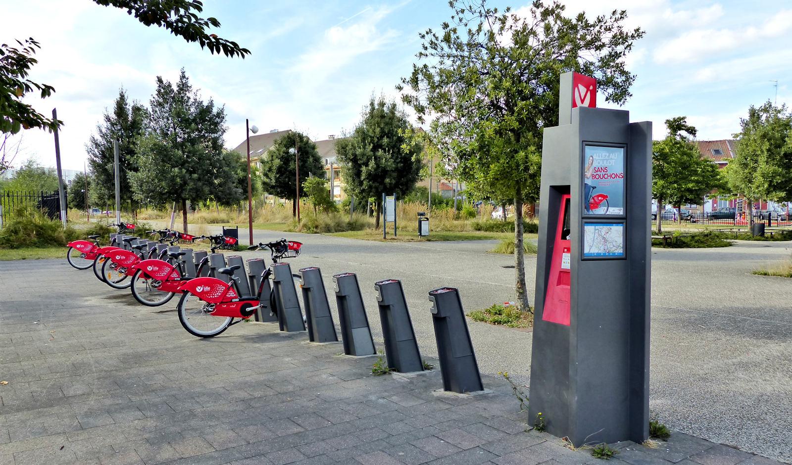 """Vélos V'Lille """"Le Corbusier"""" - Tourcoing"""