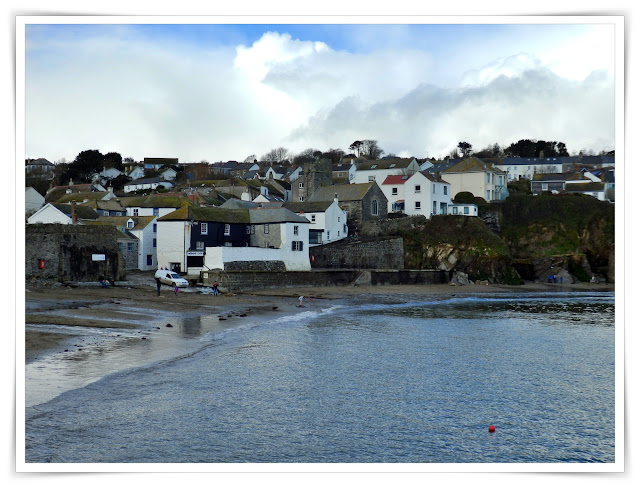 Gorran Haven, Cornwall and is small beach