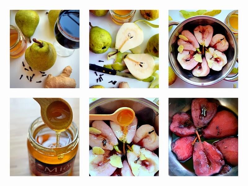 gruszki, gruszki w czerwonym winie, pazdziernik sezonowe owoce pazdziernik sezonowe warzywa, sezonowa kuchnia, pazdziernik, zycie od kuchni