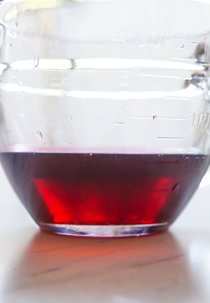 Hibiscus simple syrup ♥ bakeat350.net