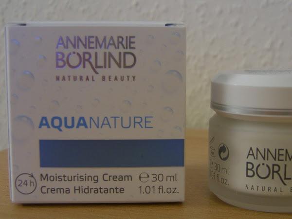 Produkttest: AQUANATURE 24 h Feuchtigkeitscreme von Annemarie Börlind
