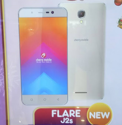 Cherry Mobile Flare J2s; Quad Core Android M 8MP Camera for Php2,999