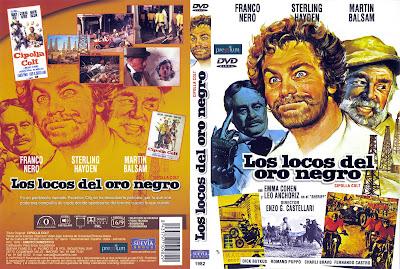 Carátula - Los locos del oro negro - Franco Nero