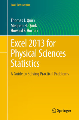 Excel 2013 for Physical Sciences Statistics: A Guide to Solving Practical Problems (Excel for Statistics) - Free Ebook Download