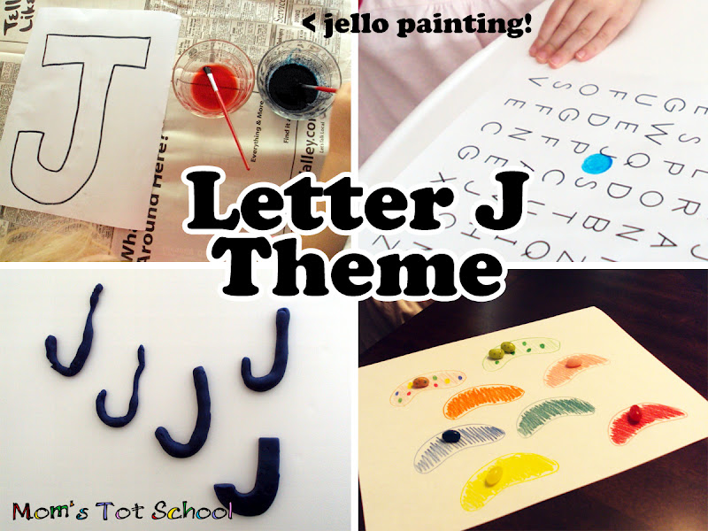 Mom s Tot School Letter J