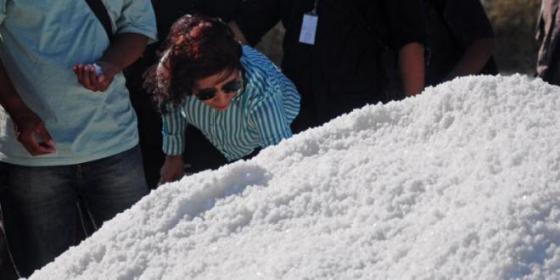 Menteri Susi: Garam Kita Lebih Bersih dan Bagus, Kenapa Harus Impor?
