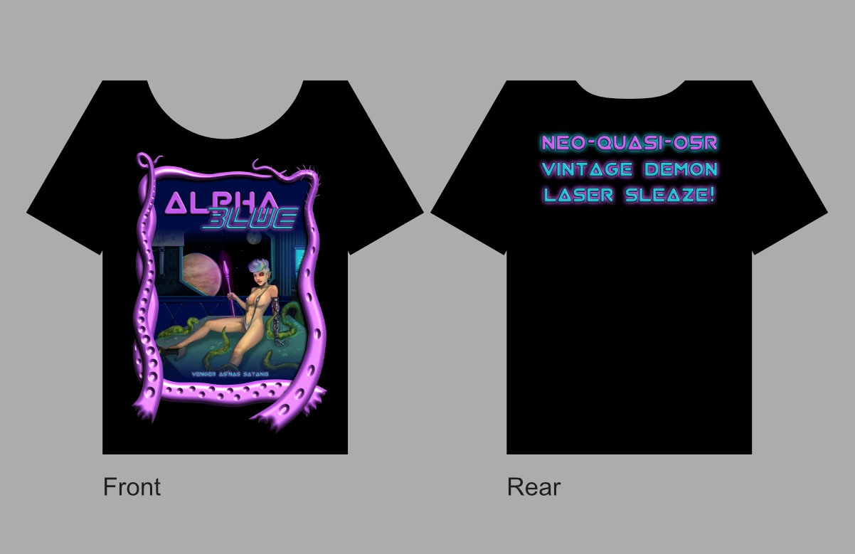 Alpha Blue merchandise