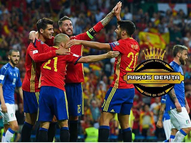 Timnas Spanyol Terancam Digeser Dari Piala Dunia 2018
