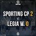 Sporting 2 - Légia 0...Este Sporting chega a ser enfadonho e medíocre!