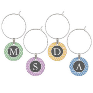 25% Off Wine Charms