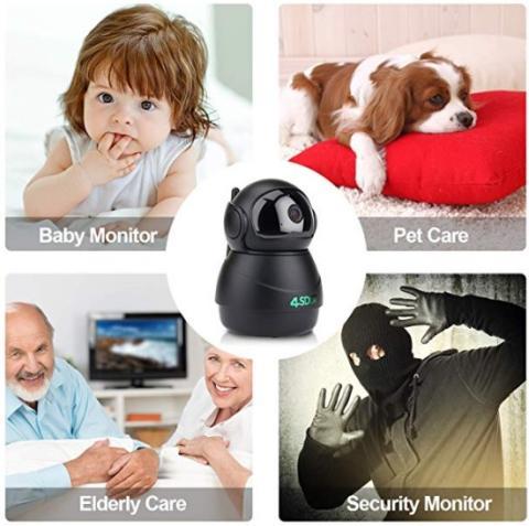 4sdot Smart Wireless IP Camera 1080P Nanny Cam User Review