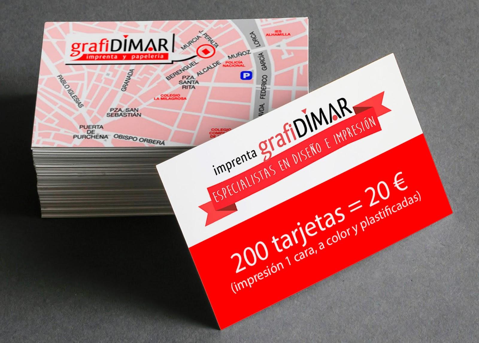 Tarjetas De Visita En Almería Oferta