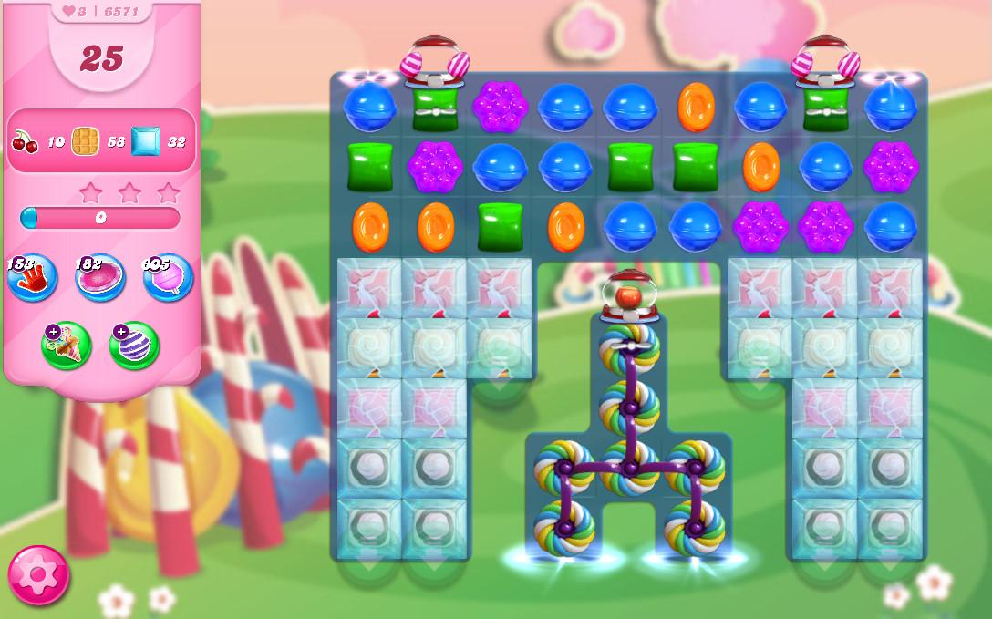 Candy Crush Saga level 6571