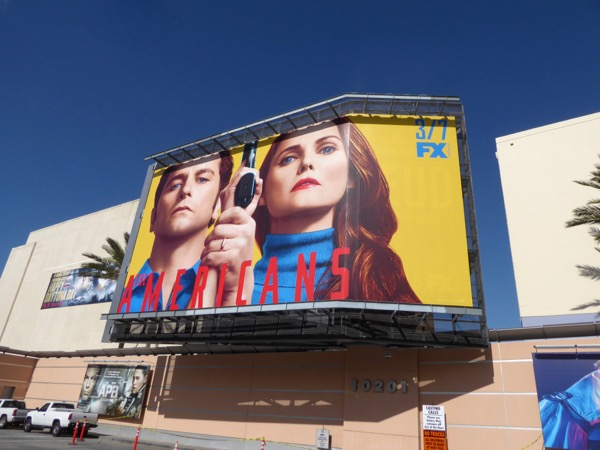 Americans season 5 billboard Fox Studios
