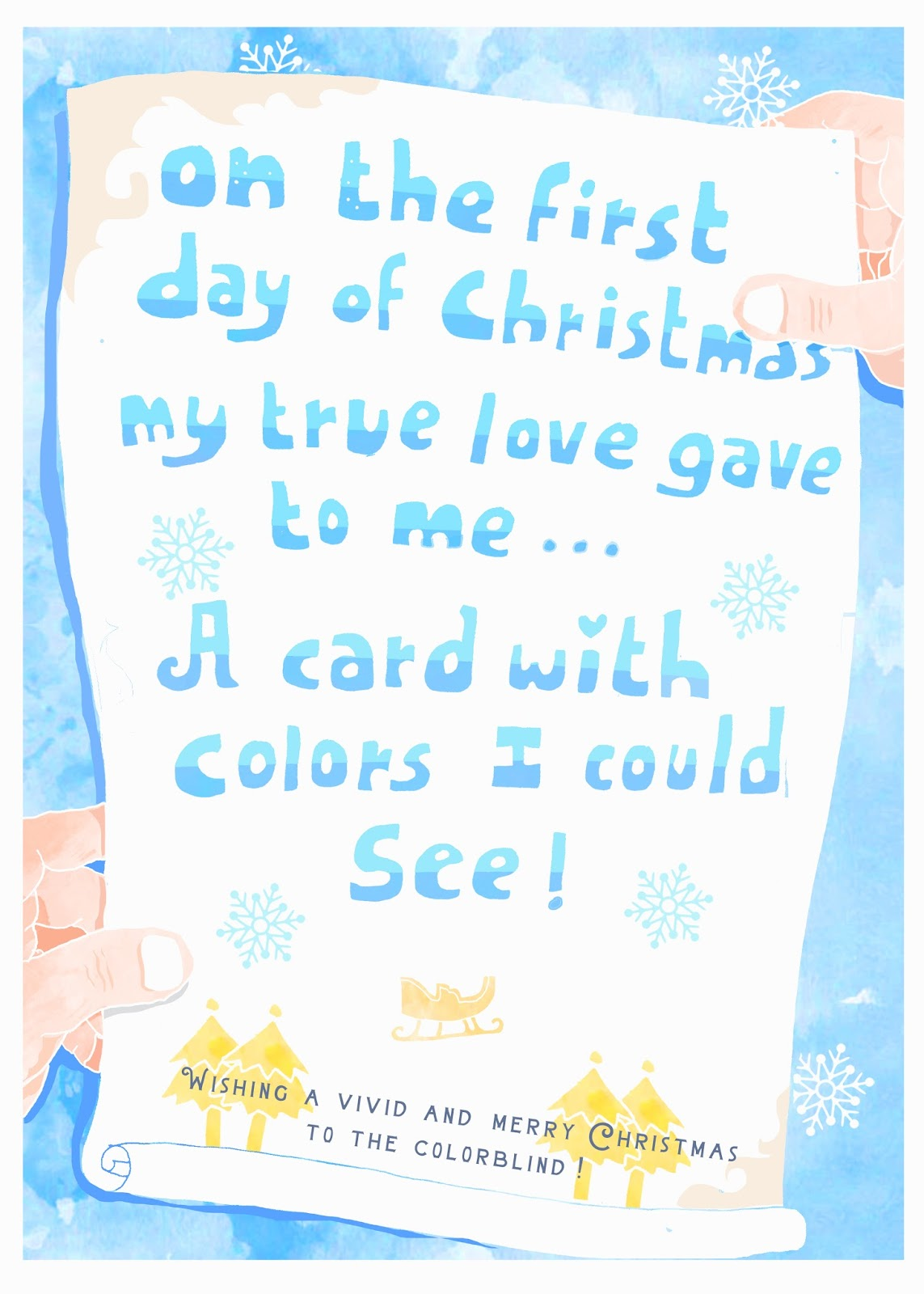 Advertising Creatives Rebrand Christmas for the Colorblind | AdStasher
