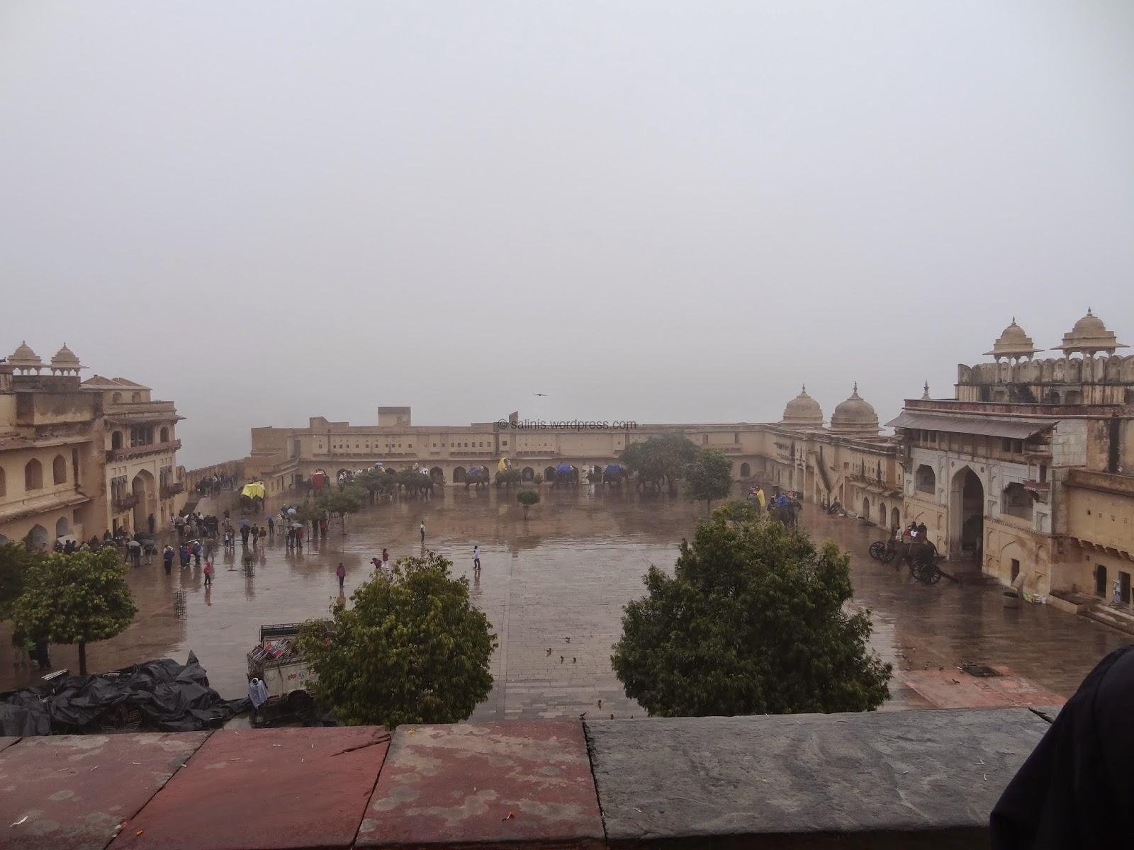 Jaleb Chowk, Courtyard of Amber fort - Rajasthan India - Pick, Pack, Go