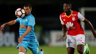 Sporting Cristal vs Independiente Santa Fe en Copa Libertadores 2017
