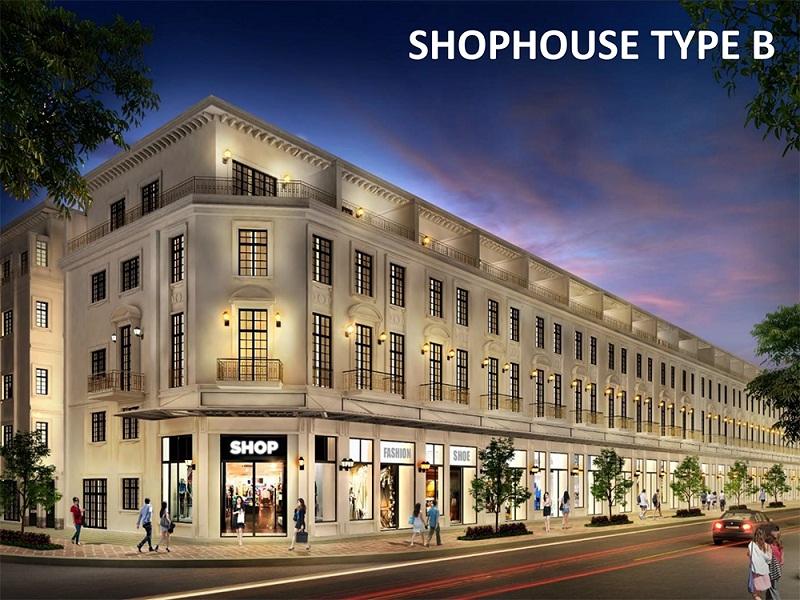 Mẫu nhà Shophouse B