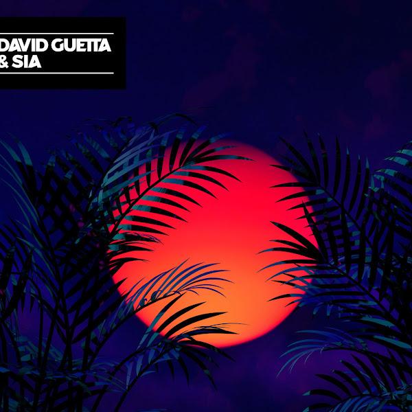David Guetta & Sia - Flames - Single Cover