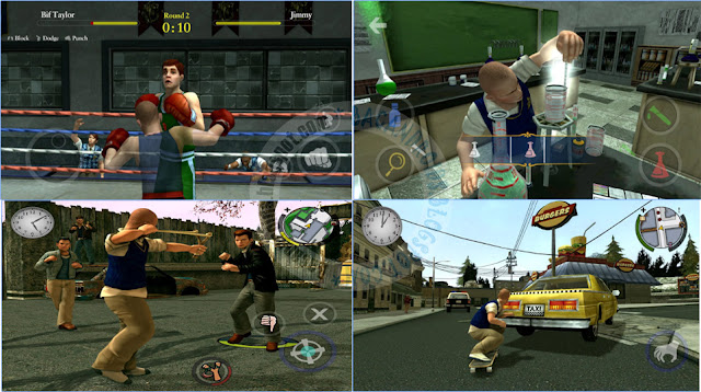 Update game Bully Anniversary Edition 1.0.0.16 Apk terbaru Full Data Mod