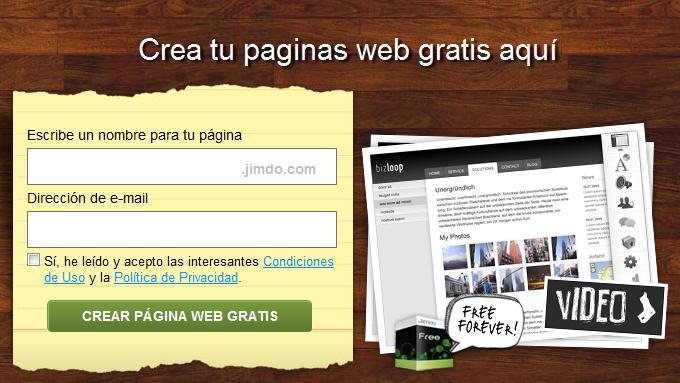 crear una pagina web gratis | cómo hacer una página web para tu banda