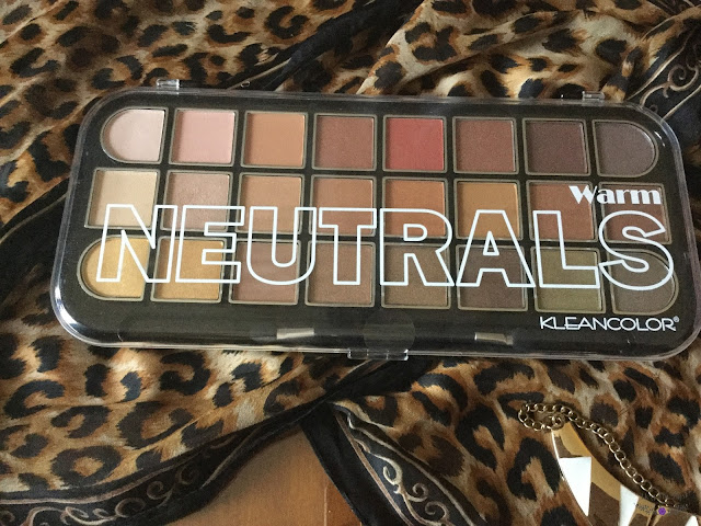 kleancolor warm neutrals