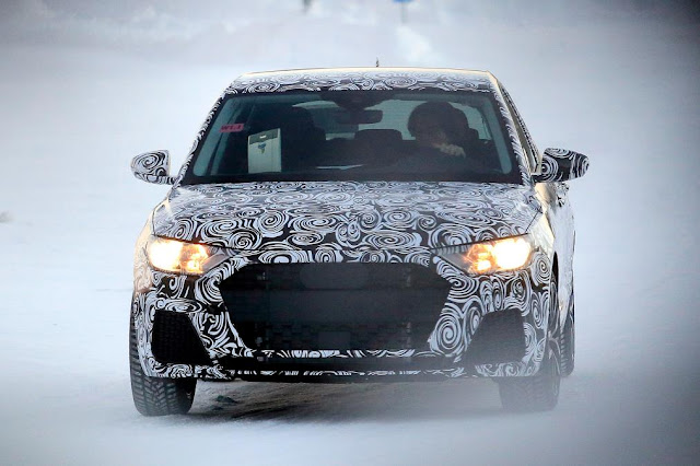 Audi A1 interior and exterior design