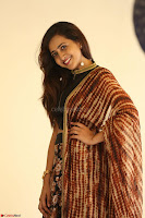 Lasya looks super cute in black choli Saree at Raja Meru Keka Press Meet ~  Exclusive 090.JPG