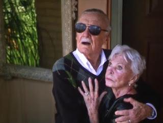 Joan e Stan Lee