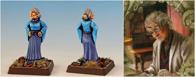 Agatha Crane, the parapsychologist painted miniature