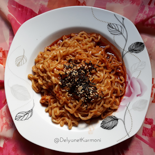 [Review] Mie Ramen Samyang Green, halal