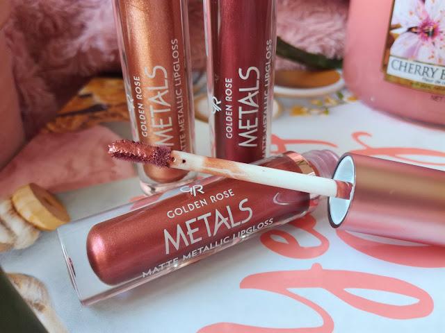 Metals Matte Metallic Lipgloss de Golden Rose