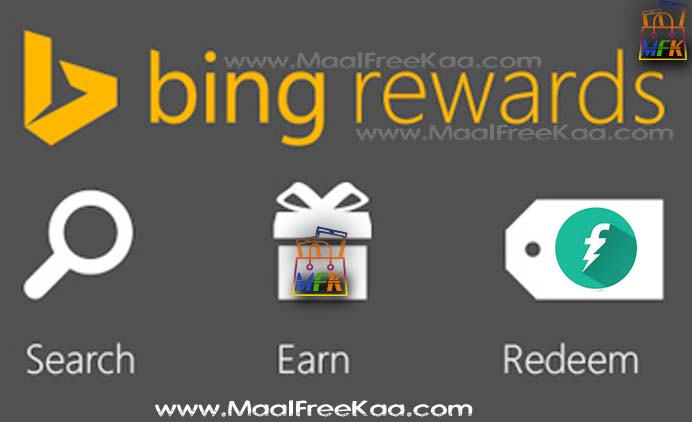 Search on Bing  Get Free Rewards FreeCharge Wallet Money To