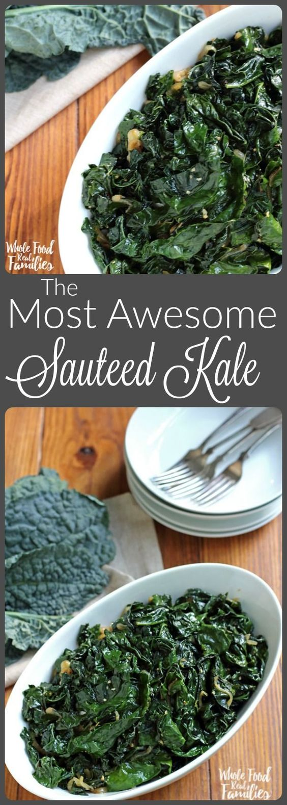 The Most Awesome Sauteed Kale
