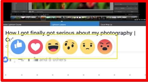 facebook reaction emojis meaning