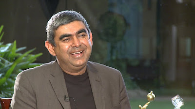 Infosys has given a hefty pay hike to its CEO Vishal Sikka, bumping it from roughly Rs  47 crore ($ 7.08 million) to Rs 75 crore ($11million).    The new pay structure will be effective from January 2017.   This is the breakup of his pay package, according to The Economic Times.