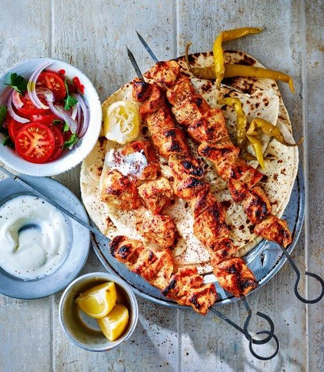 Turkish chicken shish