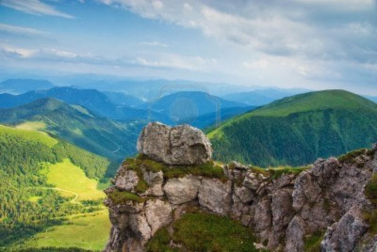 landscape mountain beautiful wallpaper - photo #5