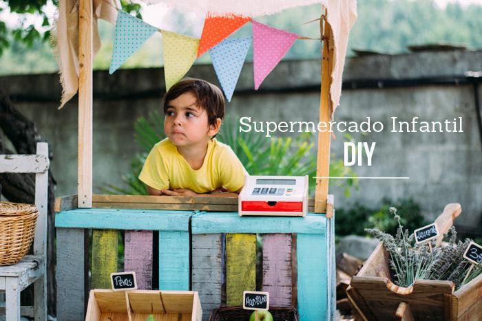 Cómo hacer un supermercado infantil tu mismo