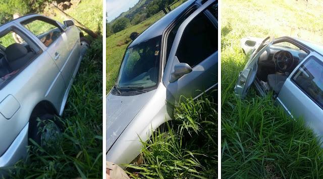 Morador de Borrazópolis sofre acidente próximo a ponte do Rio Bom