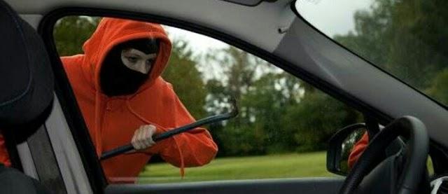 Bak Film Action, Polisi Kerja-kejaran dengan Pencuri Grab Car di Tol
