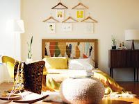 Wandgestaltung Schlafzimmer mit Holz