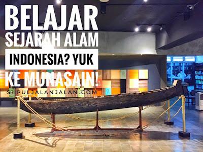Belajar Sejarah Alam Indonesia? Yuk ke Munasain!